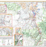 Ridgeway Colorado Map.Gis Geographic Information System It Department Ouray County