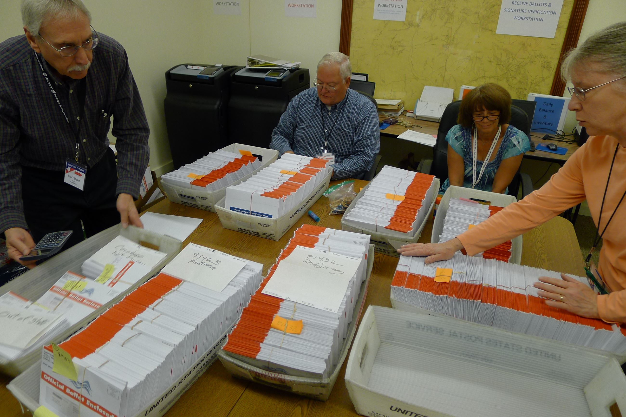 Ballots and Election Judges - June 2016