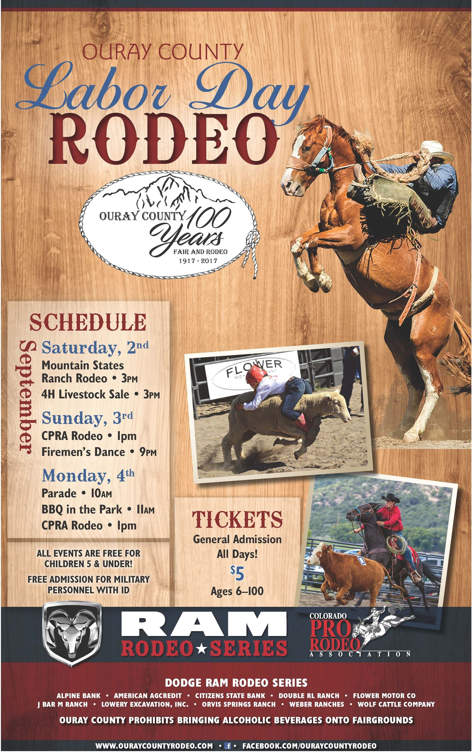 2017 Ouray County Rodeo