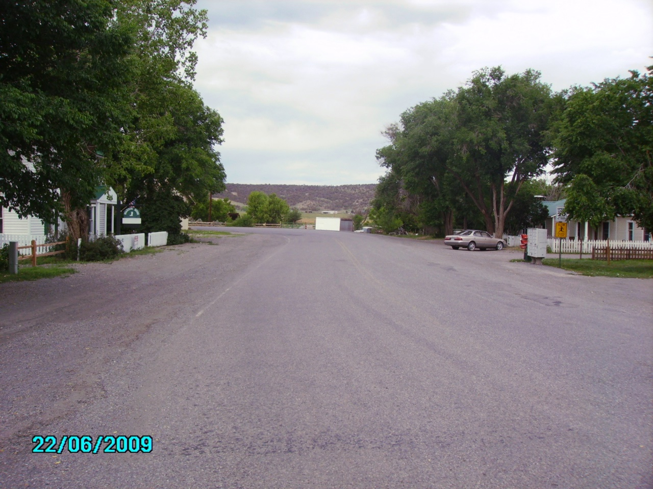 CR-1 looking west from intersection with US 550